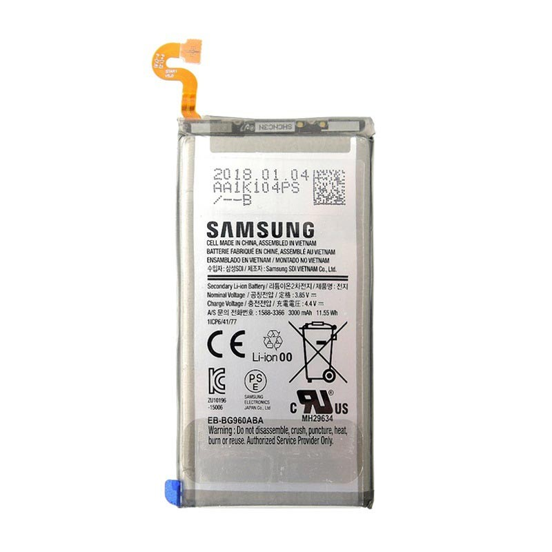 Samsung Galaxy Note 9 Battery N960 80% SOH Tested for Key Functions,R2/Ready for Resale Z3, Jacksonville FL