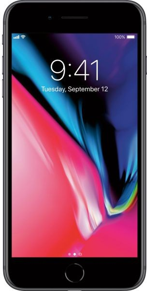 Apple iPhone 8 Plus, 256GB, Unlocked Tested for Key Functions, R2/Ready for Resale, Jacksonville FL