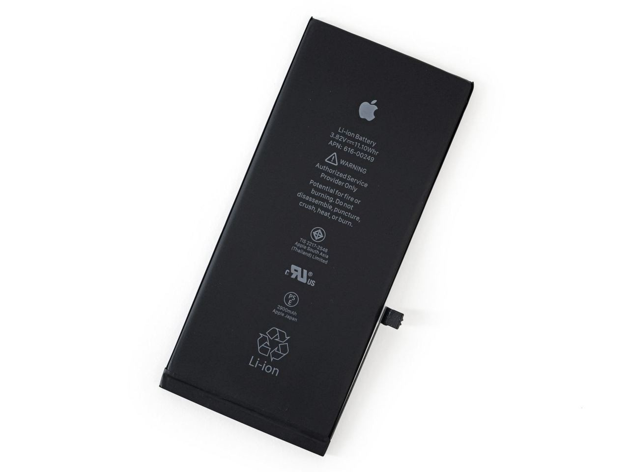 Apple iPhone 8 Plus Battery 80% Minimum SOH Tested for Key Functions, R2/Ready for Resale, Jacksonville FL