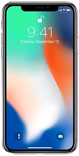 Apple iPhone X, 64GB, Unlocked Tested for Key Functions, R2/Ready for Resale - z1, Jacksonville FL
