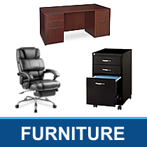 Truckload of Chairs, Desks, Bookcases & Other Office Furniture, 117 Units, Customer Returns, Ext. Retail $54,399, Walker, MI