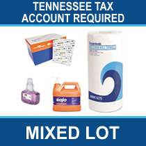 Tennessee Tax Account # Required - Truckload of Office Supplies, Cleaning Products & More, 1,320 Units, Ext. Retail $74,618, Memphis, TN