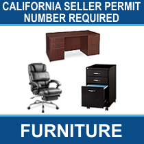 California Seller Permit Number Required - 11 Pallets of Office Furniture & More Ext. Retail $29,988, Shafter, CA