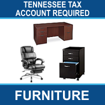 Tennessee Tax Account # Required - 14 Pallets of Office Chairs & Storage Ext. Retail $43,765, Memphis, TN
