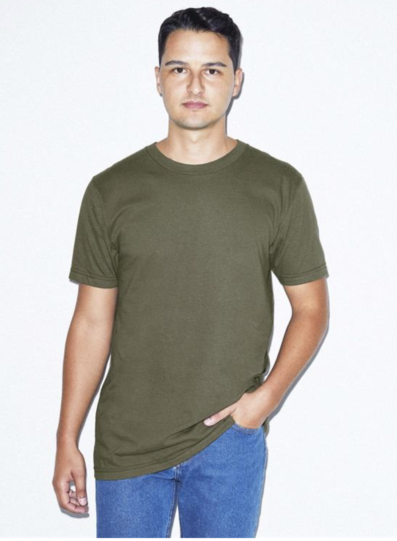 2 Pallets of Adult American Apparel Fine Jersey T-Shirts, 2 Ext. Retail $38,592, Mira Loma, CA