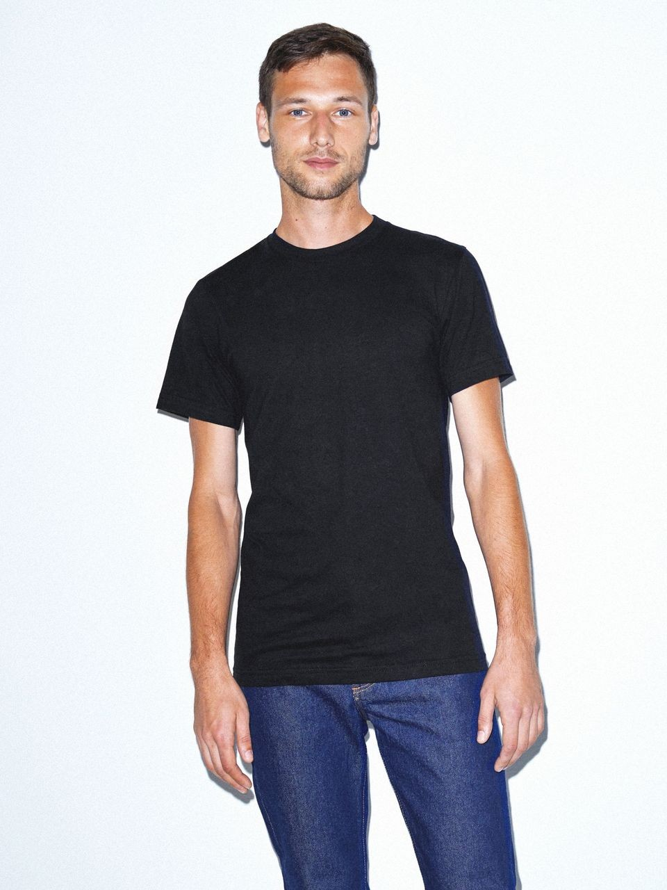 2 Pallets of Adult American Apparel Fine Jersey T-Shirts, 2 Ext. Retail $39,204, Mira Loma, CA