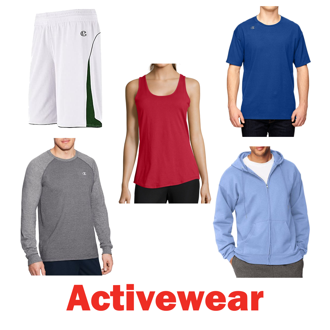 Truckload of Men's T-Shirts & More by Hanes & Champion, 19 Ext. Retail $134,493, Rural Hall, NC
