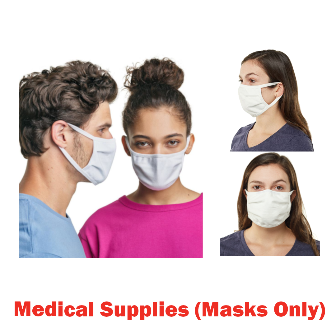 Est. 1 Pallet of 5-Pack 2-Ply Kids' Face Masks, 1,000 Packs (5,000 Face Masks Total Qty), Ext. Retail $10,000, Rural Hall, NC