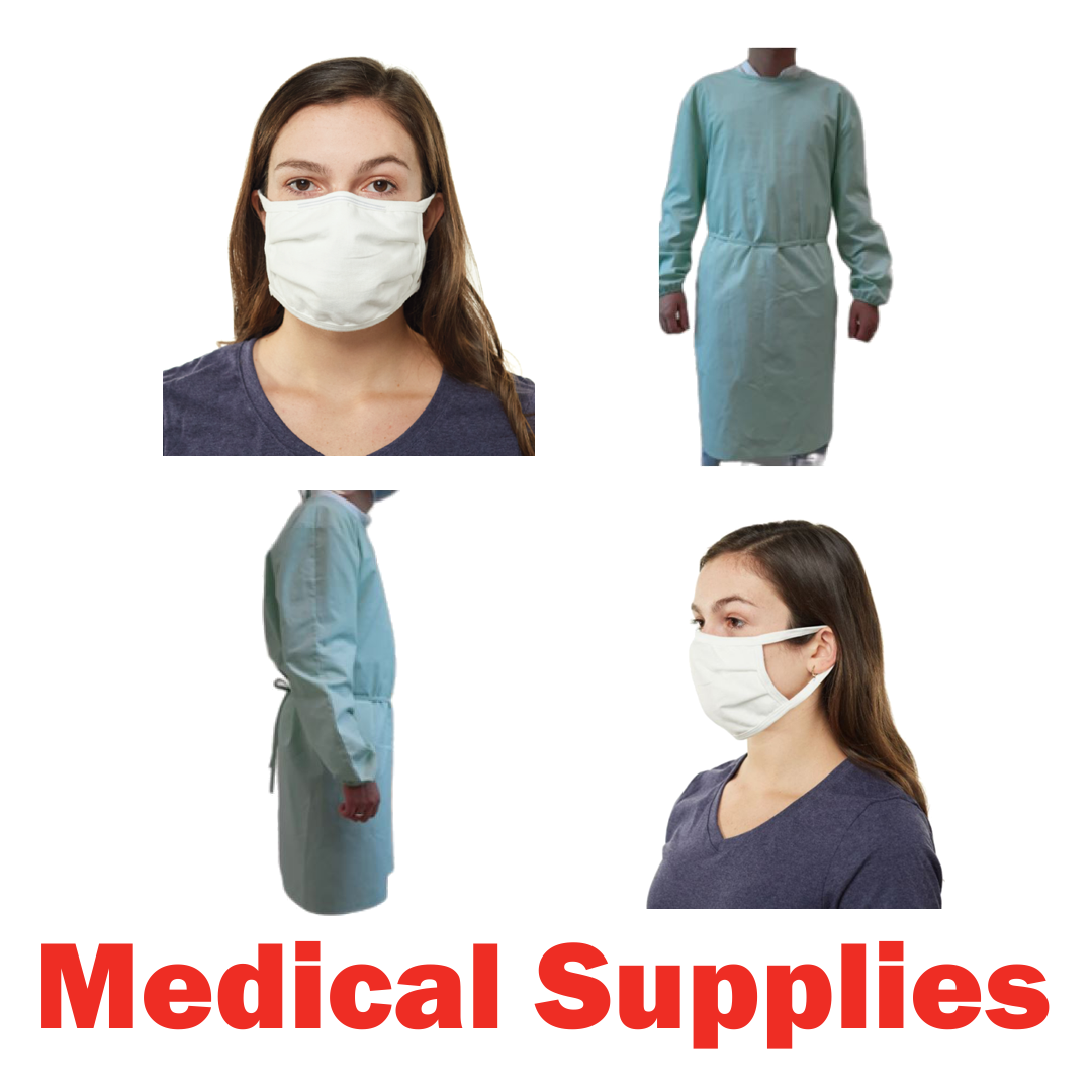 Est. 4 Pallets of Medical Gowns, 5 Ext. Retail $70,000, Perris, CA