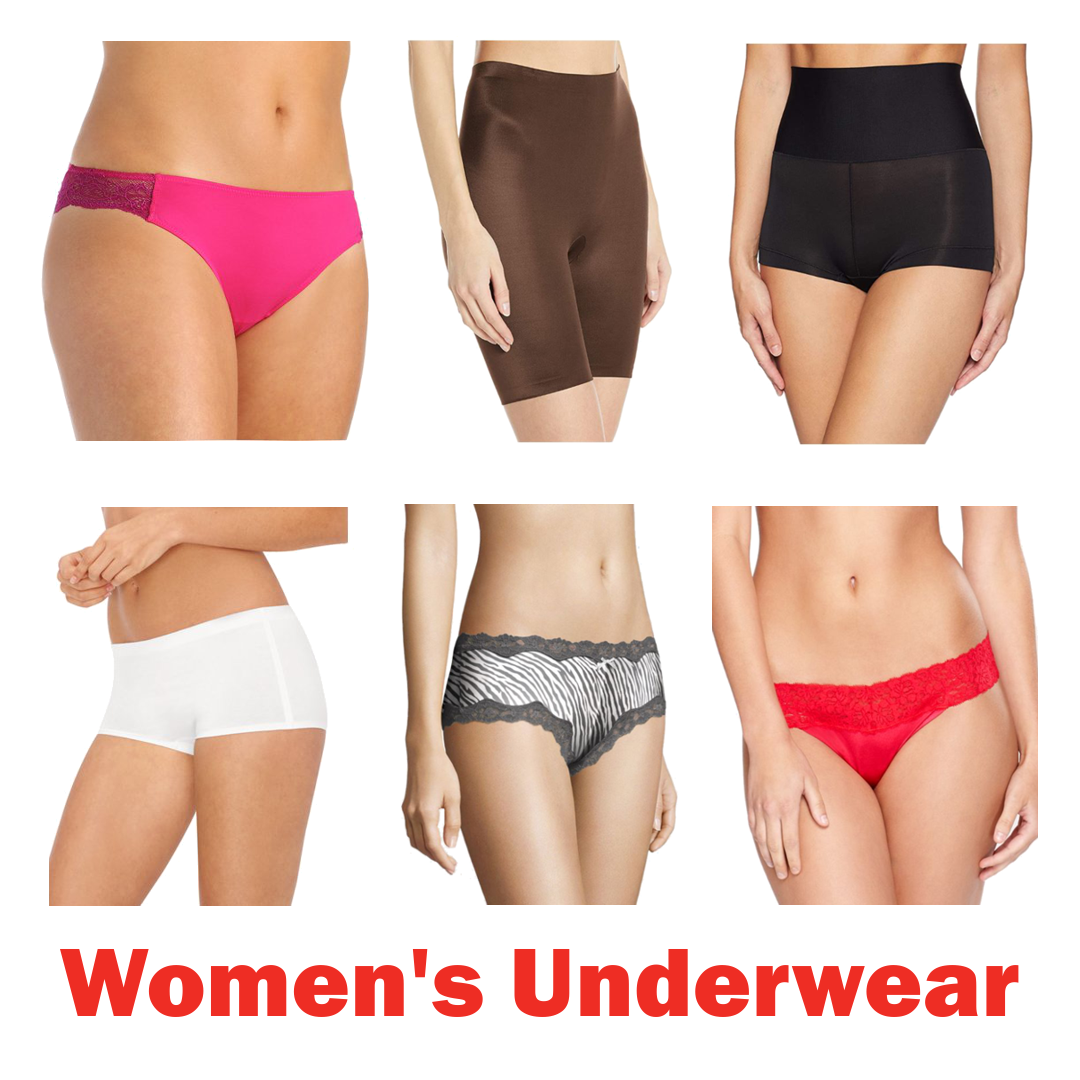 Est. 2 Pallets of Bali Women's Briefs & Seamless Panties, 3 Ext. Retail $43,032, Kings Mountain, NC