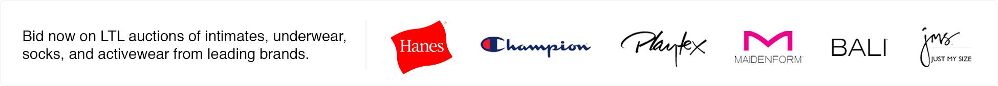 Hanes Liquidation Auctions Marketplace Launch