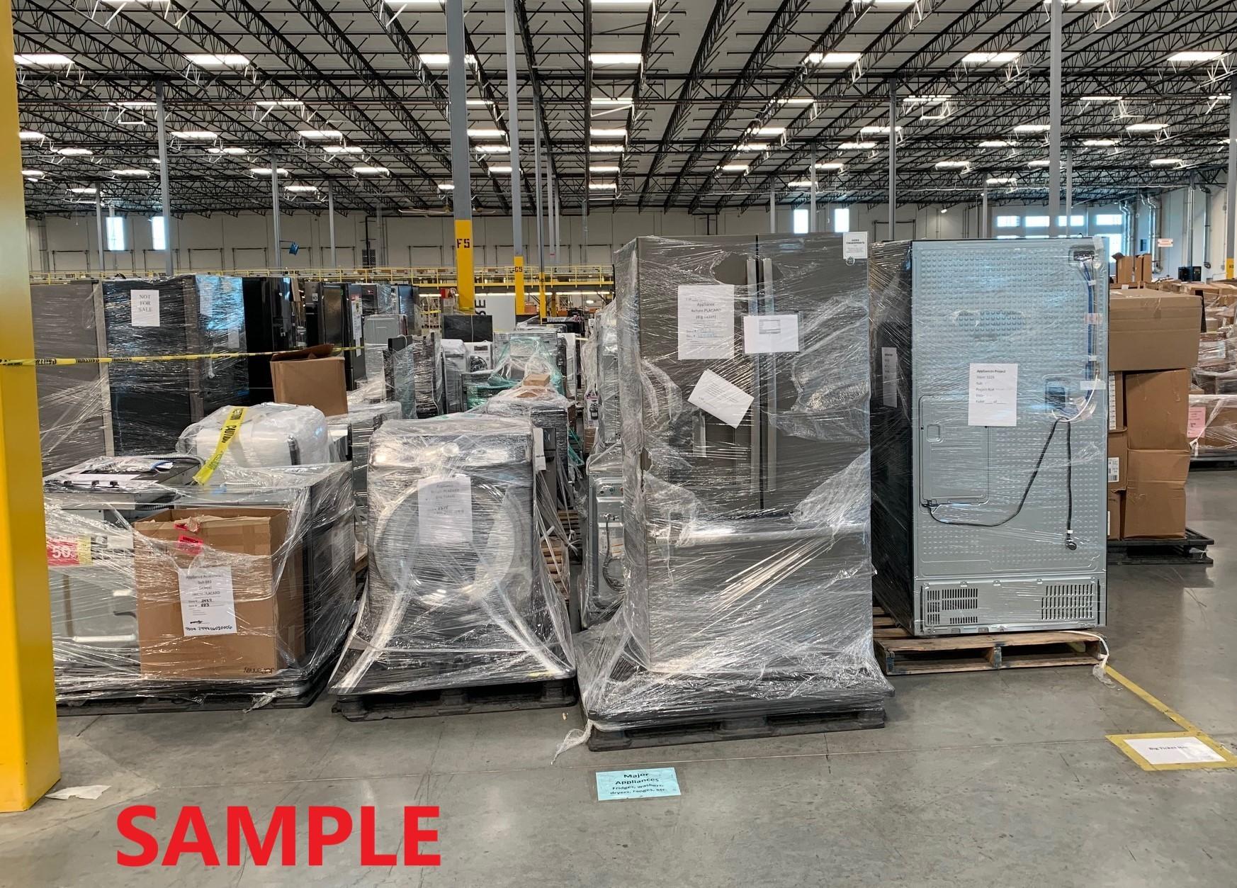 Truckload of UNMANIFESTED Appliances & Accessories (APPLIANCE43), Lenexa, KS