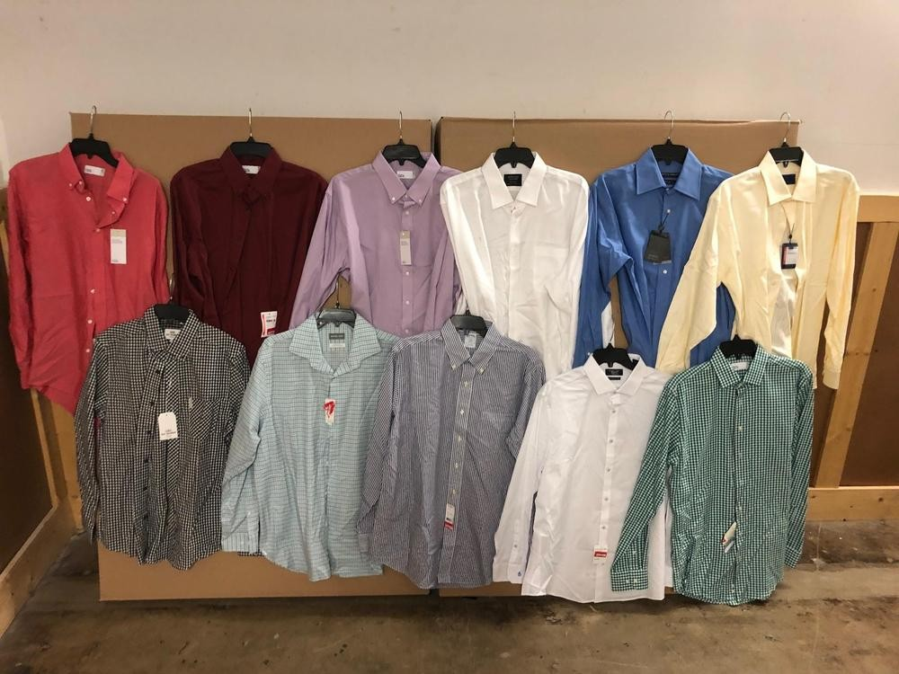 1 Pallet of Unmanifested Men's Dresswear & Casual Apparel Lombard, IL
