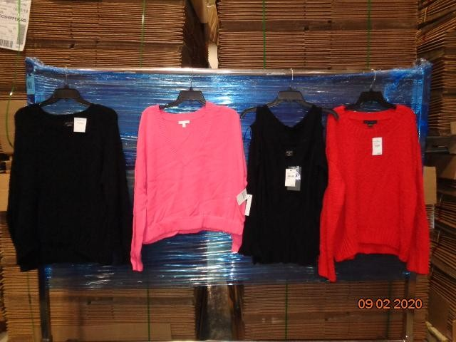 1 Pallet of Unmanifested Women's Apparel, 21 Cartons, Dubuque, IA