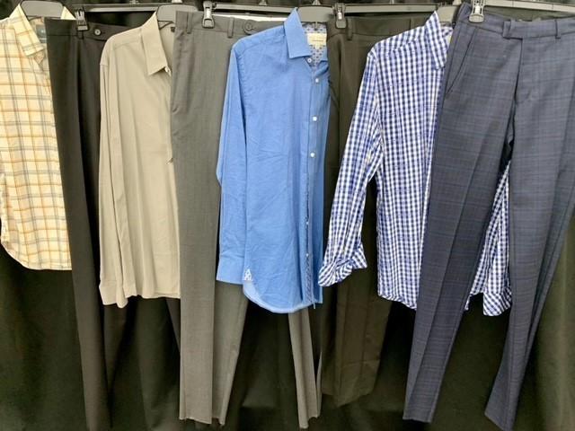 1 Pallet of Unmanifested Men's Apparel: Suiting, Pants & Asst. Tops Phoenix, AZ