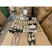 1 Pallet of Unmanifested Footwear by Nike, Vans, Givenchy, Jimmy Choo, Gucci, Valentino & More, Est. 361 Pairs, Salvage Condition, Lombard, IL