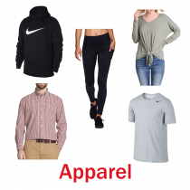 4 Pallets of Apparel, Footwear & Accessories, 3,707 Units, Overstock, Ext. Retail $54,806, Fort Wayne, IN, PRIVATE-LABEL ITEMS INCLUDED