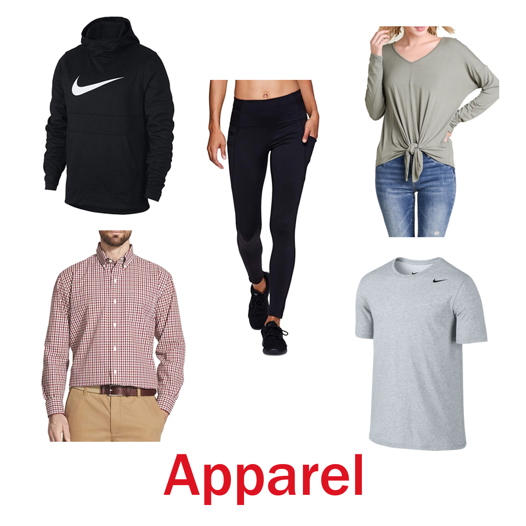 4 Pallets of Apparel, Footwear & Accessories, 5 Ext. Retail $70,678, Fort Wayne, IN, PRIVATE-LABEL ITEMS INCLUDED