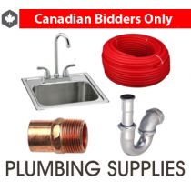 3 Pallets from Wolseley of Finished & Rough Plumbing & Bath Supplies & More, 284 Units, New Condition, Ext. Retail $48,748 USD, Concord, ON, Canada