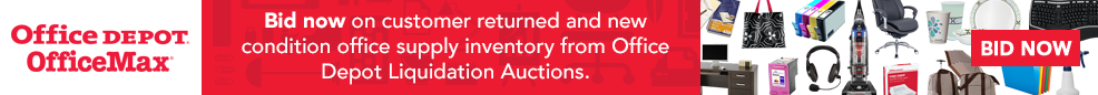 Office Depot Liquidation Auctions Launch
