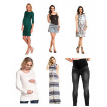 Que Sera Maternity Wear, 185 Units, Grade A Condition, Est. Original Retail €15,365, Hannover, DE