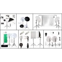 Collection Of Professional Photo Equipment, Photo Kits, 30 Units, Grade A Condition, Est. Original Retail €2,890, Hannover, DE