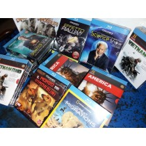 Cofanetti Blu-ray NatGeo, History & Discovery Channel, Audio Italiano, 600 Units, Grade A Condition, Est. Original Retail €23,994, Milan, IT