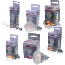 E14 Bulb & Candle, E27 Bulb & GU10 Spot, 3,640 Units, Grade A Condition, Est. Original Retail €10,556, Hamburg, DE