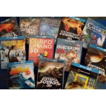 Documentari in Blu-ray 3D NatGeo, History Channel, BBC, Audio Italiano, 1,200 Units, Grade A Condition, Est. Original Retail €23,988, Milan, IT