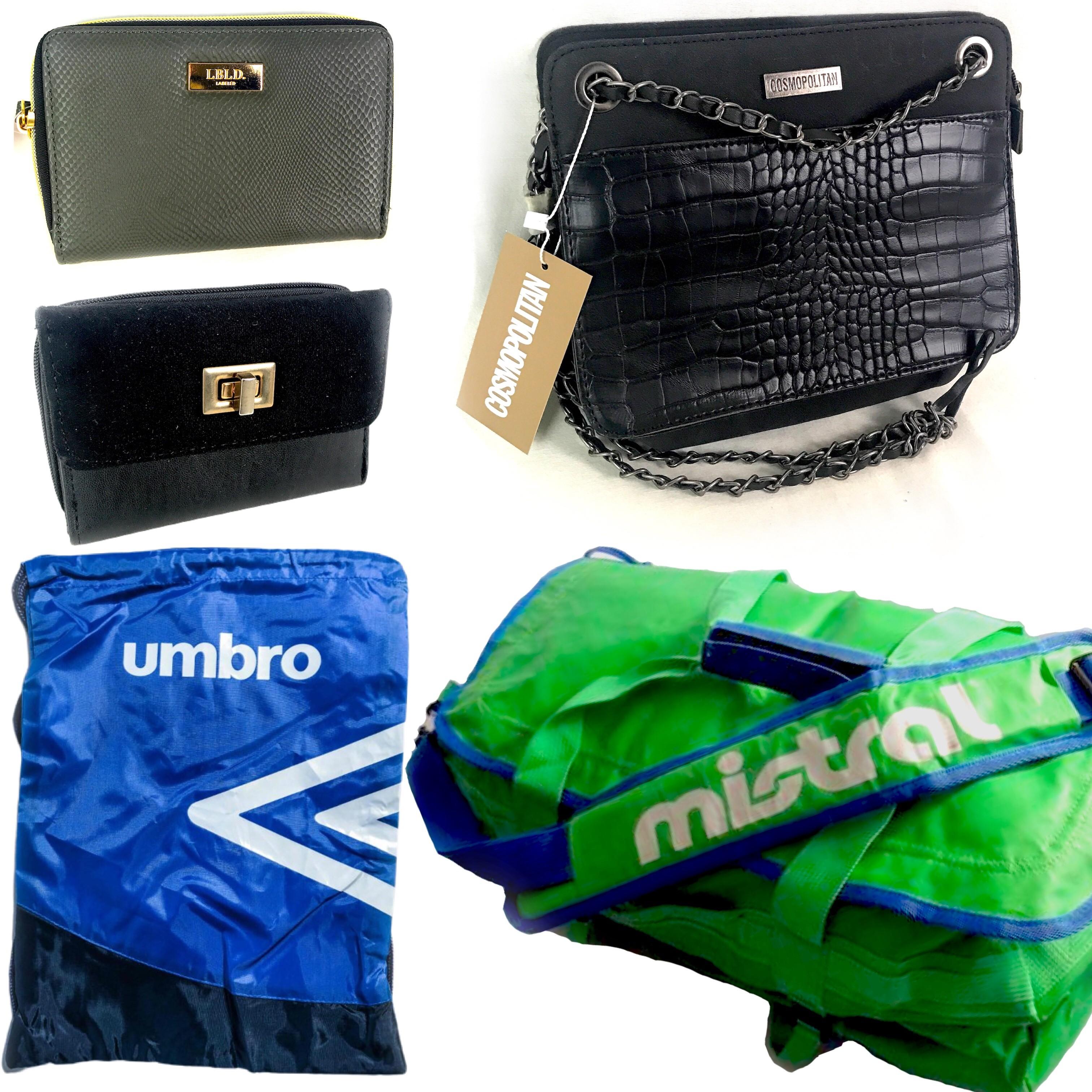 Mistral Bag, Umbro Sports Bag, Cosmopolitan Purses, LBLD Beauty Bags & More Est. Original Retail €5,494, Vilnius, LT