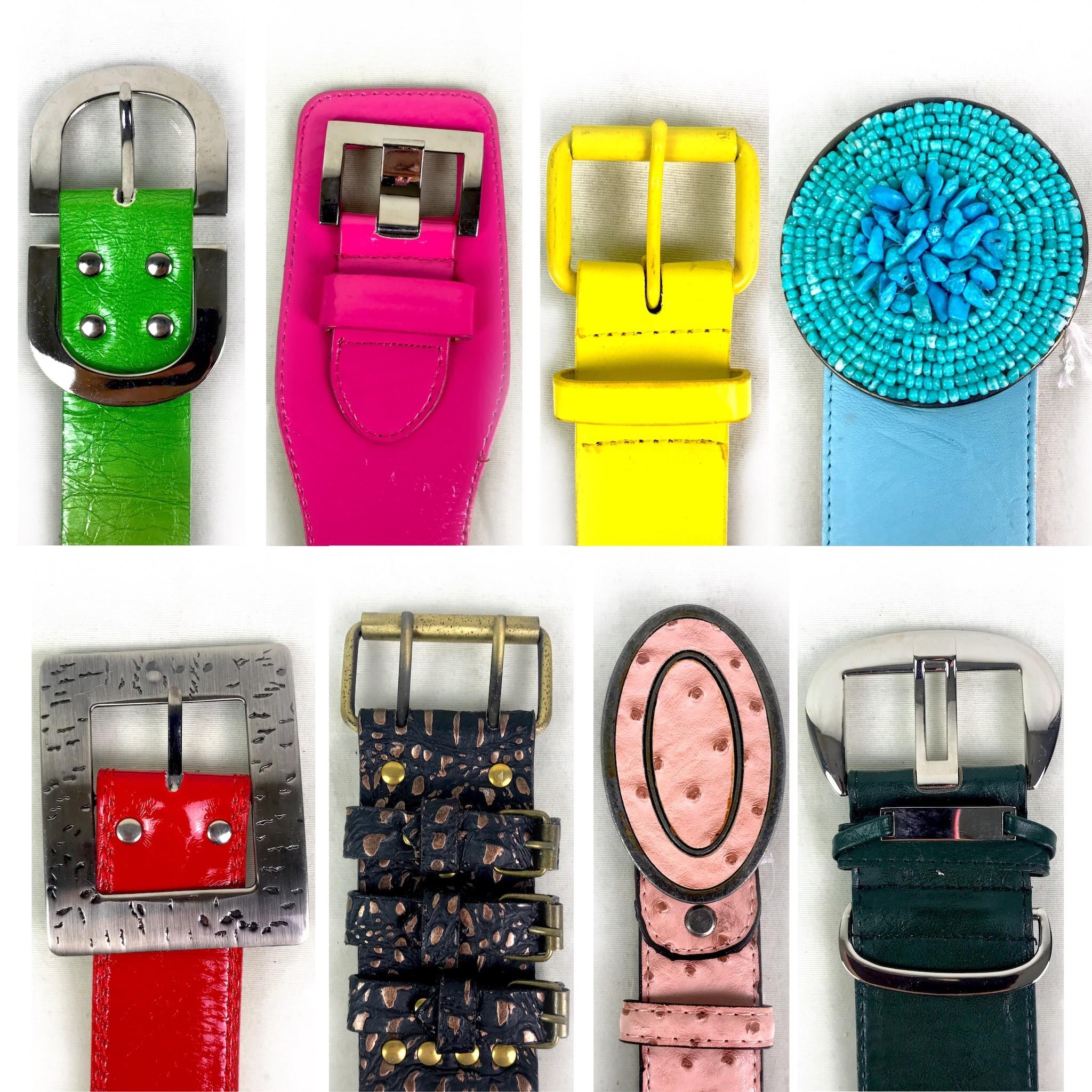 Waist Belts, Various Sizes, Shapes & Colours, 1 Est. Original Retail €10,500, Vilnius, LT