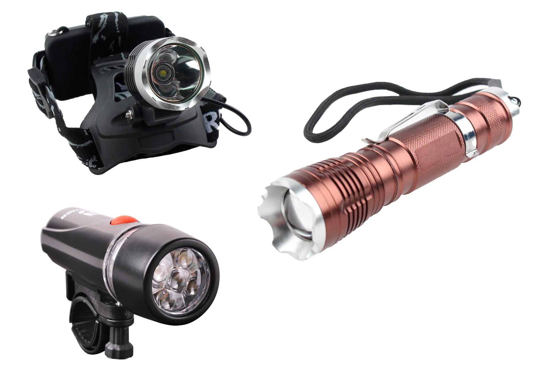 LED Flashlights for Bikes & Bicycles, Hand Flashlights & More Est. Original Retail €5,097, Tanna, DE