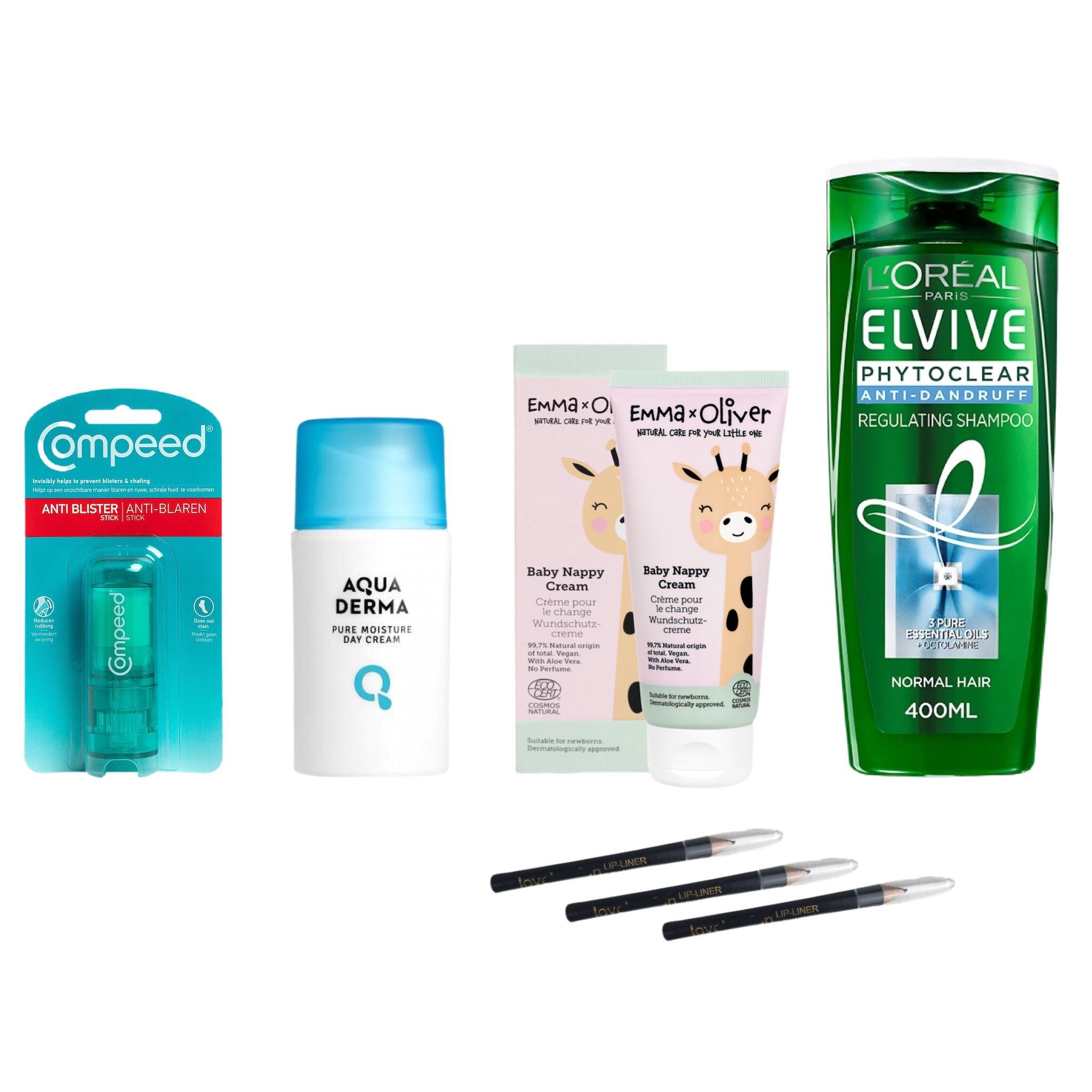 Compeed, L'Oréal Paris, Nivea, Schwarzkopf, Aqua Derma & More Health & Beauty Est. Original Retail €6,575, Vilnius, LT