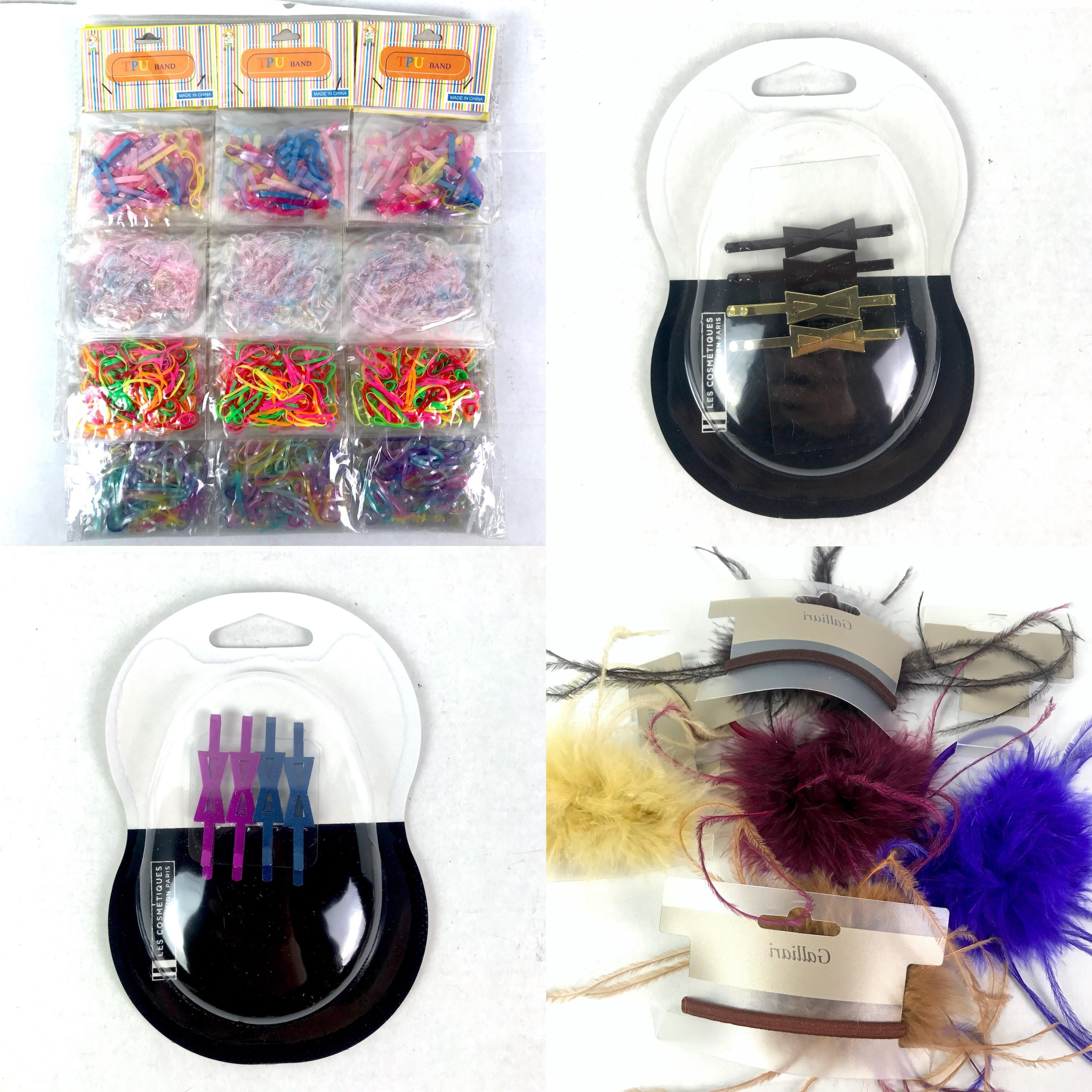 Pallet of Hair Accessories, Hair Snips, Hair Bands, Various Colours, 12 Est. Original Retail €11,605, Vilnius, LT