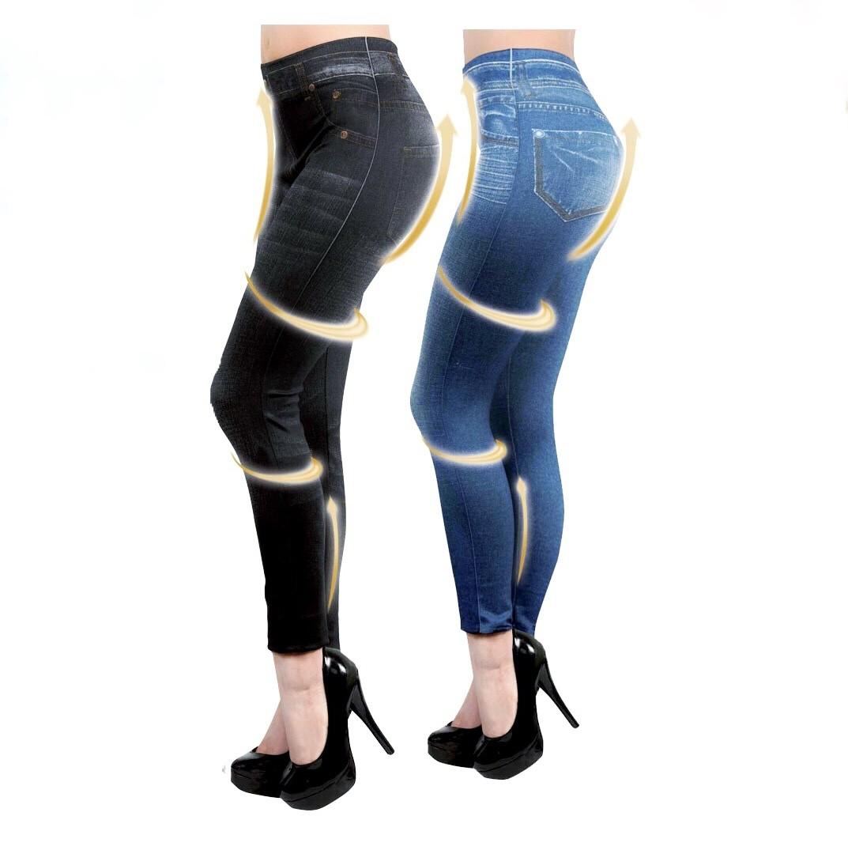 Slim Jeans Style Leggings by Zlimmy, 2 Colours Est. Original Retail €5,760, Vilnius, LT