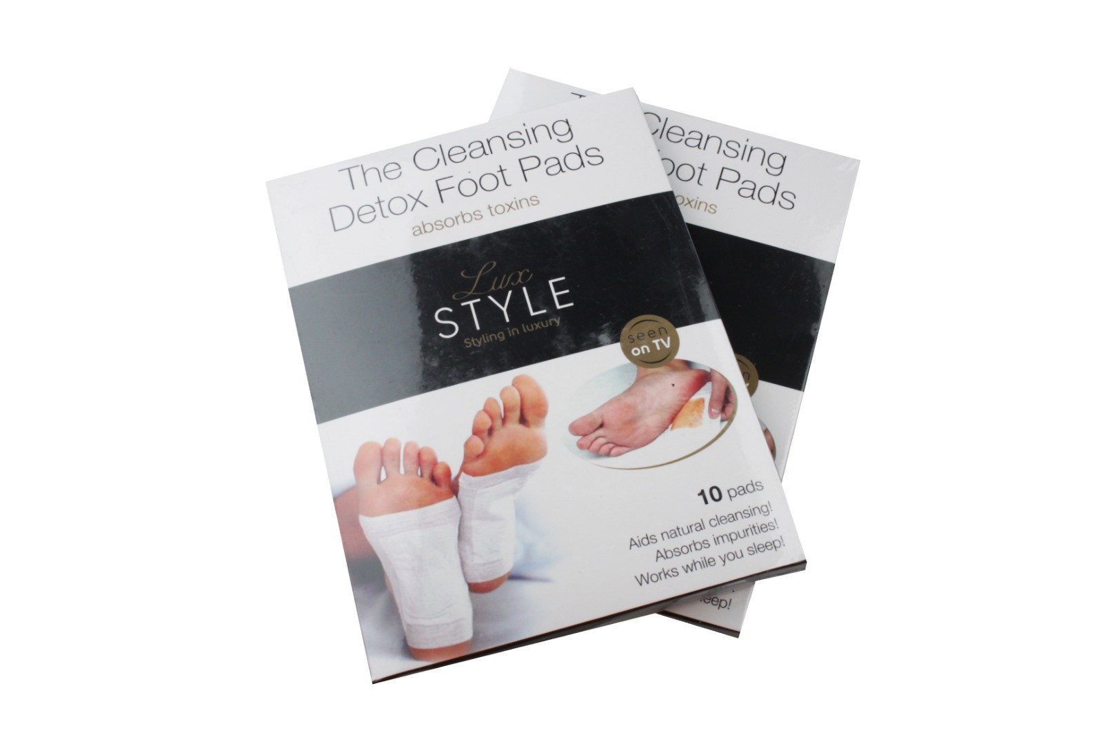 Cleansing Detox Foot Pads, 2 Est. Original Retail €5,980, Tanna, DE