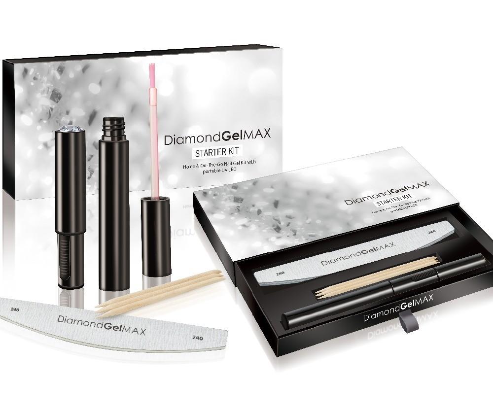 Diamond Gel MAX, Portable Nail Gel Kits with LED UV Lamps Est. Original Retail €7,485, Tanna, DE