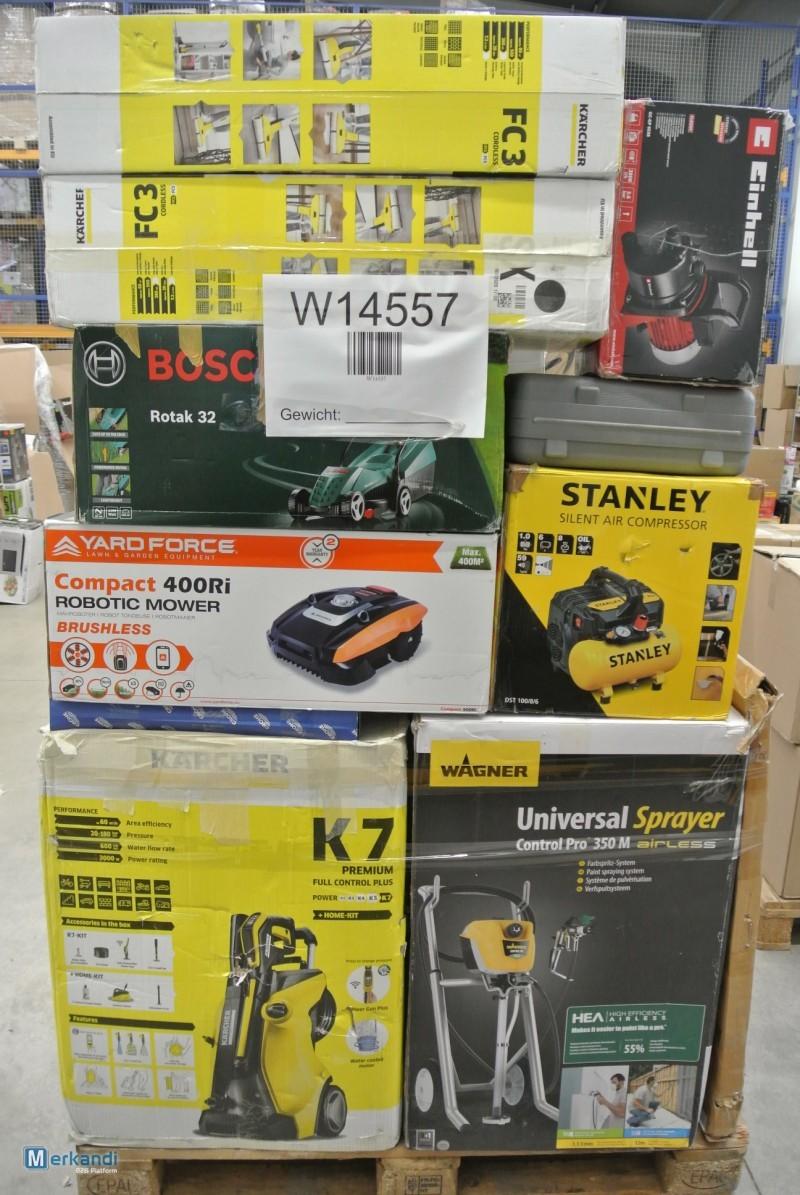 14 Pallets of Tools, Mixed Garden Items & More Est. Original Retail €36,658, Westernohe, DE