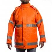 High Visibility Winter Parkas, EN471. Orange Colour, 1,517 Units, Grade A Condition, Est. Original Retail €91,020, Sondika, ES