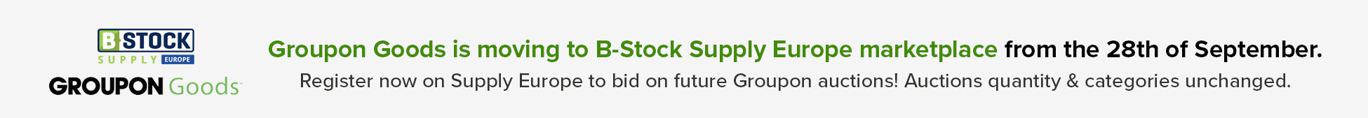 Groupon is moving to Supply EU