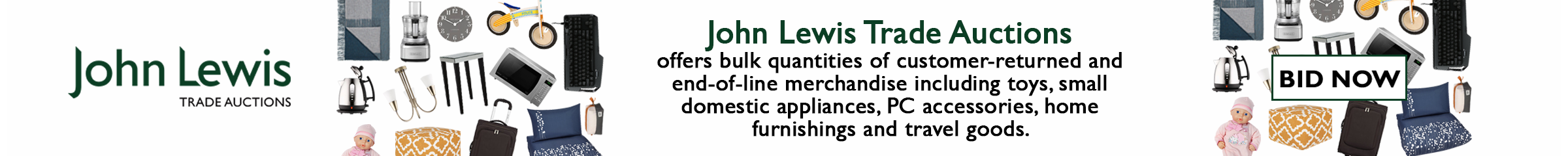 John Lewis Trade Auctions