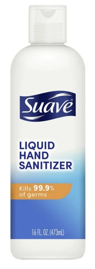 Suave Hand Sanitizer, 17,/1,154 Cases, Ext. Retail $158,506, Newville, PA