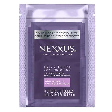 Nexxus Anti-Frizz Hair Sheets, 11,/579 Cases, Ext. Retail $102,749, Rialto, CA