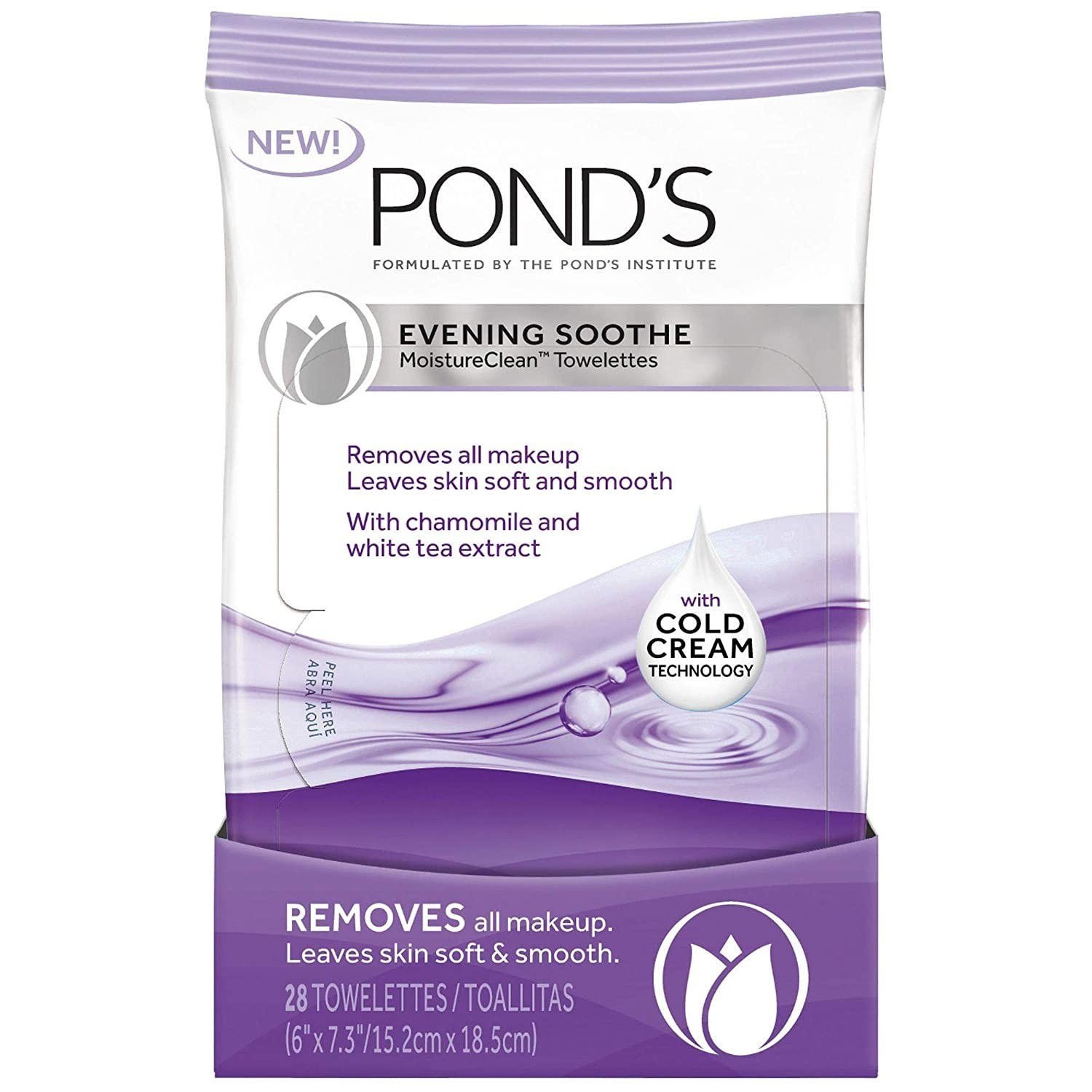 Pond's Makeup Wipes, 12,/240 Cases, Brand New, Ext. Retail $66,646, Newville, PA