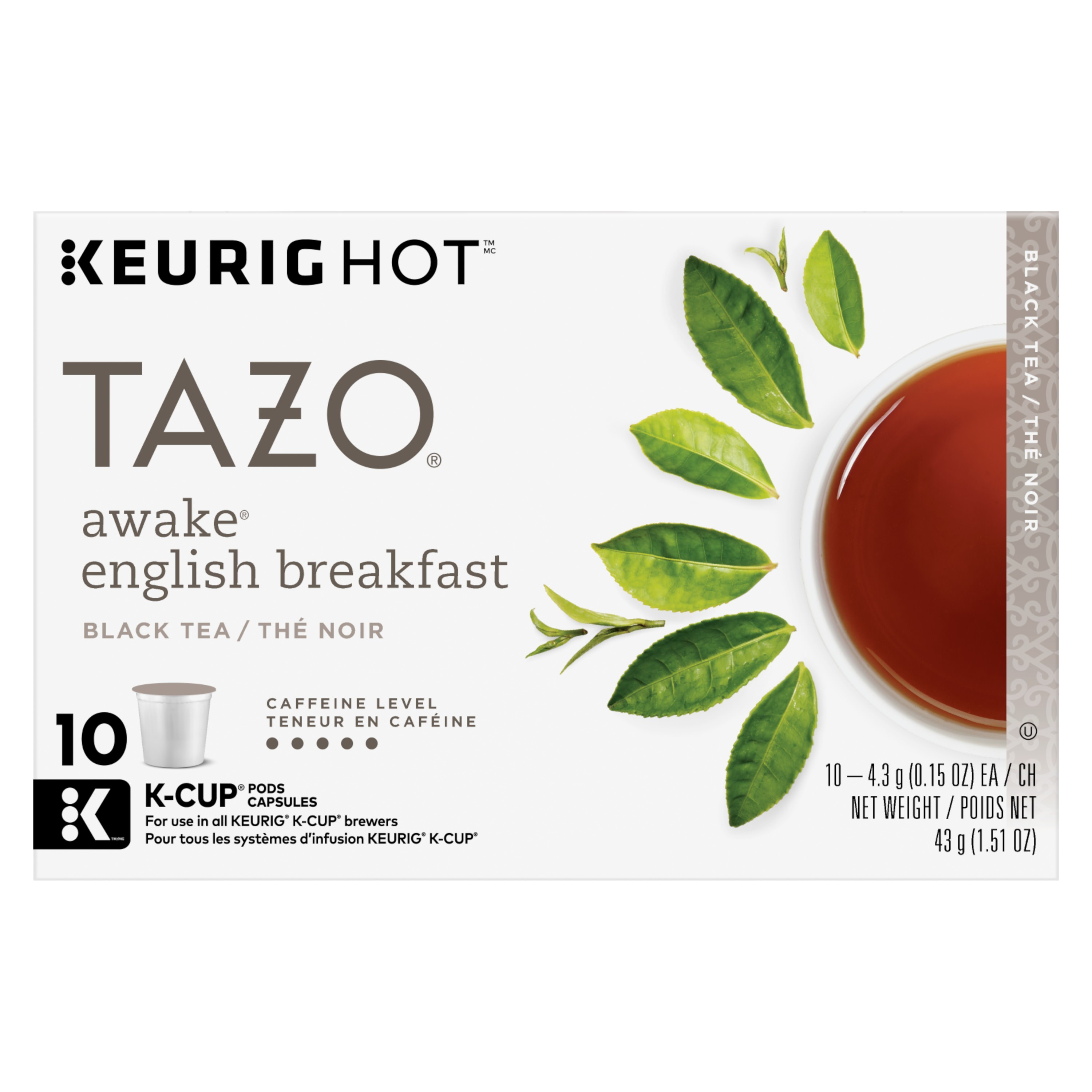 Assorted Teas & More by Tazo, Lipton & More, 16,/2,252 Cases, Ext. Retail $95,440, Rialto, CA