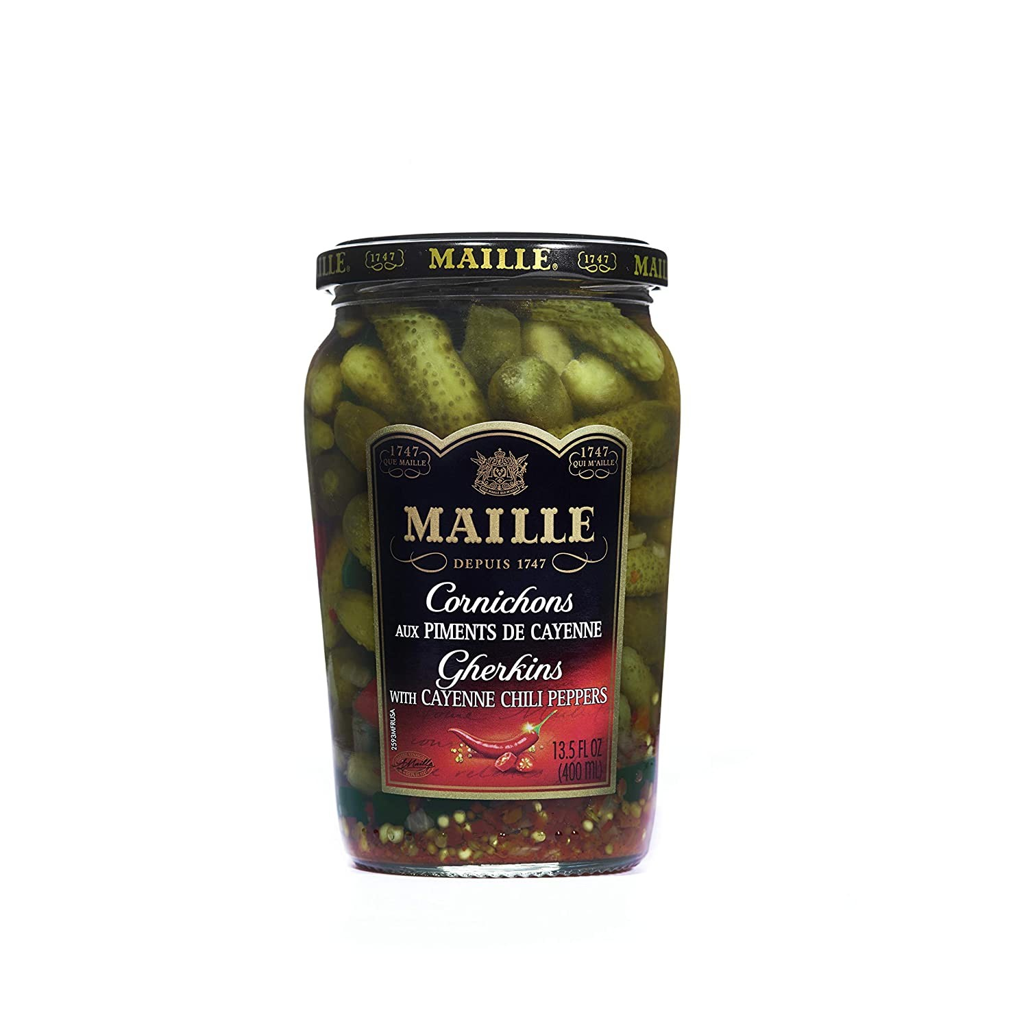 Cornichons & Chicken Noodle Cup-a-Soup by Maille & Lipton, 18,/579 Cases, Ext. Retail $55,556, Newville, PA
