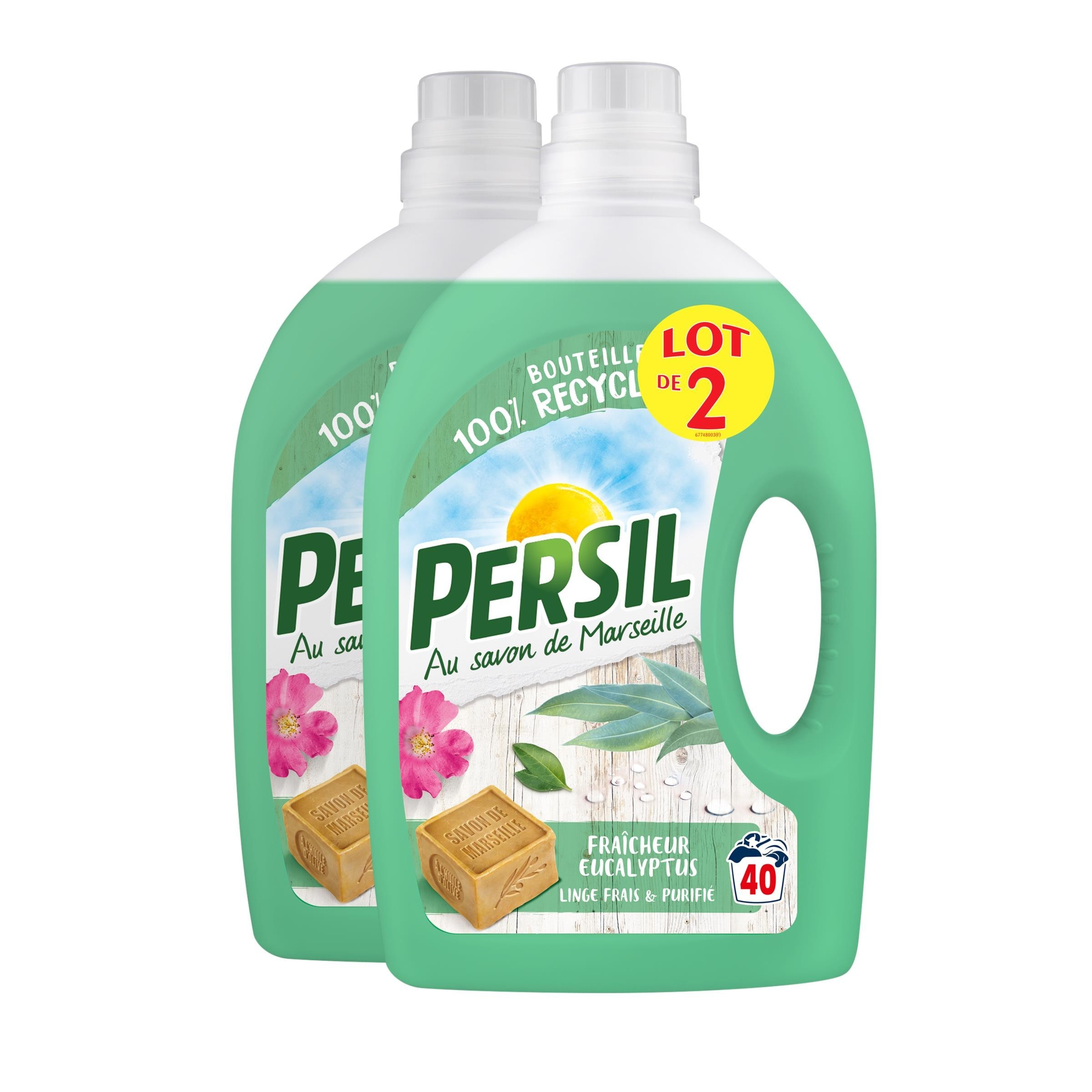 2 Truckloads of Assorted Persil Laundry Detergent, 8,880 Pieces/4,440 Packs/2,220 Cases, Ext. Retail €61,094, Fauverney, FR