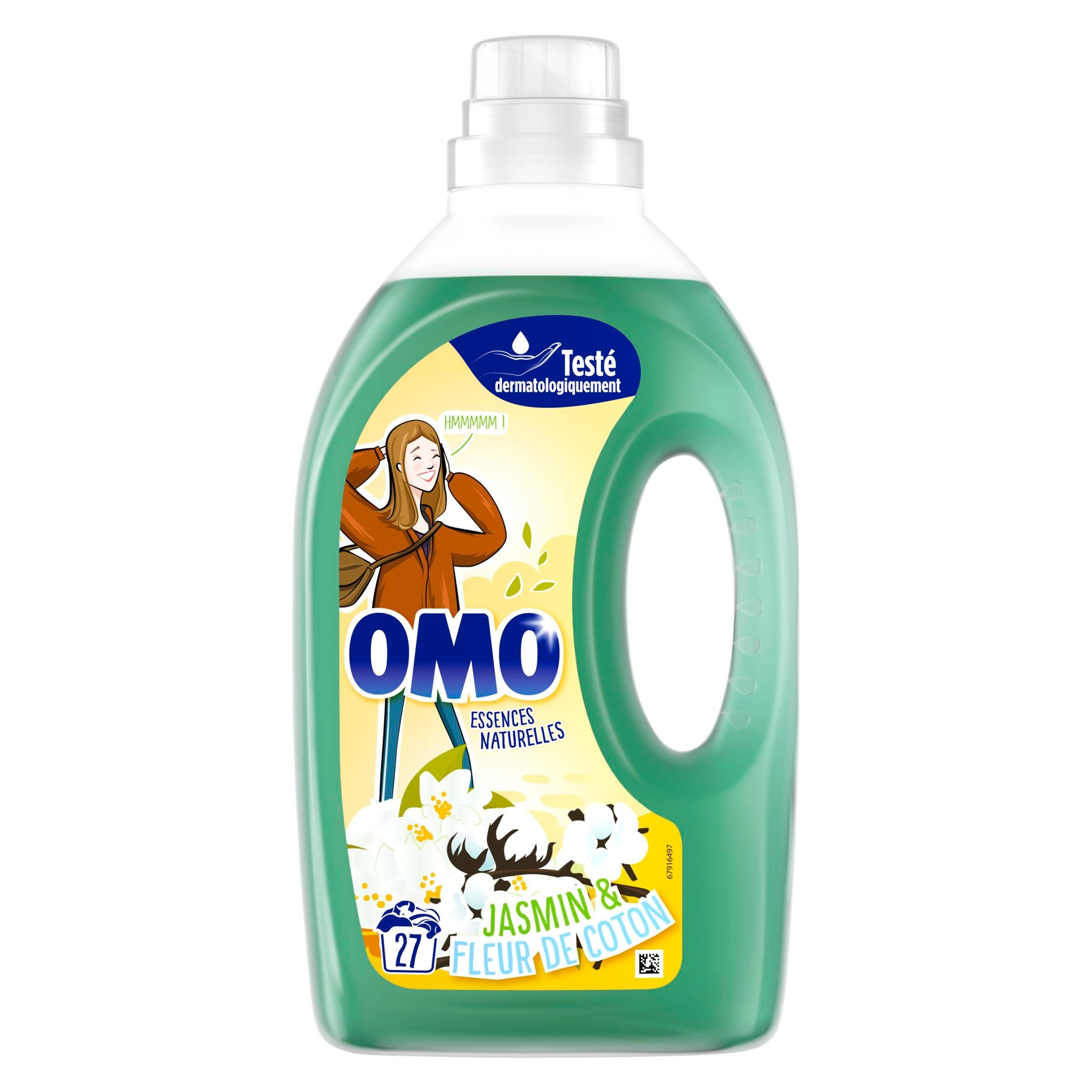 2 Truckloads of Assorted OMO Laundry Detergent, 12,403 Pieces/3,892 Cases, Ext. Retail €116,222, Fauverney, FR