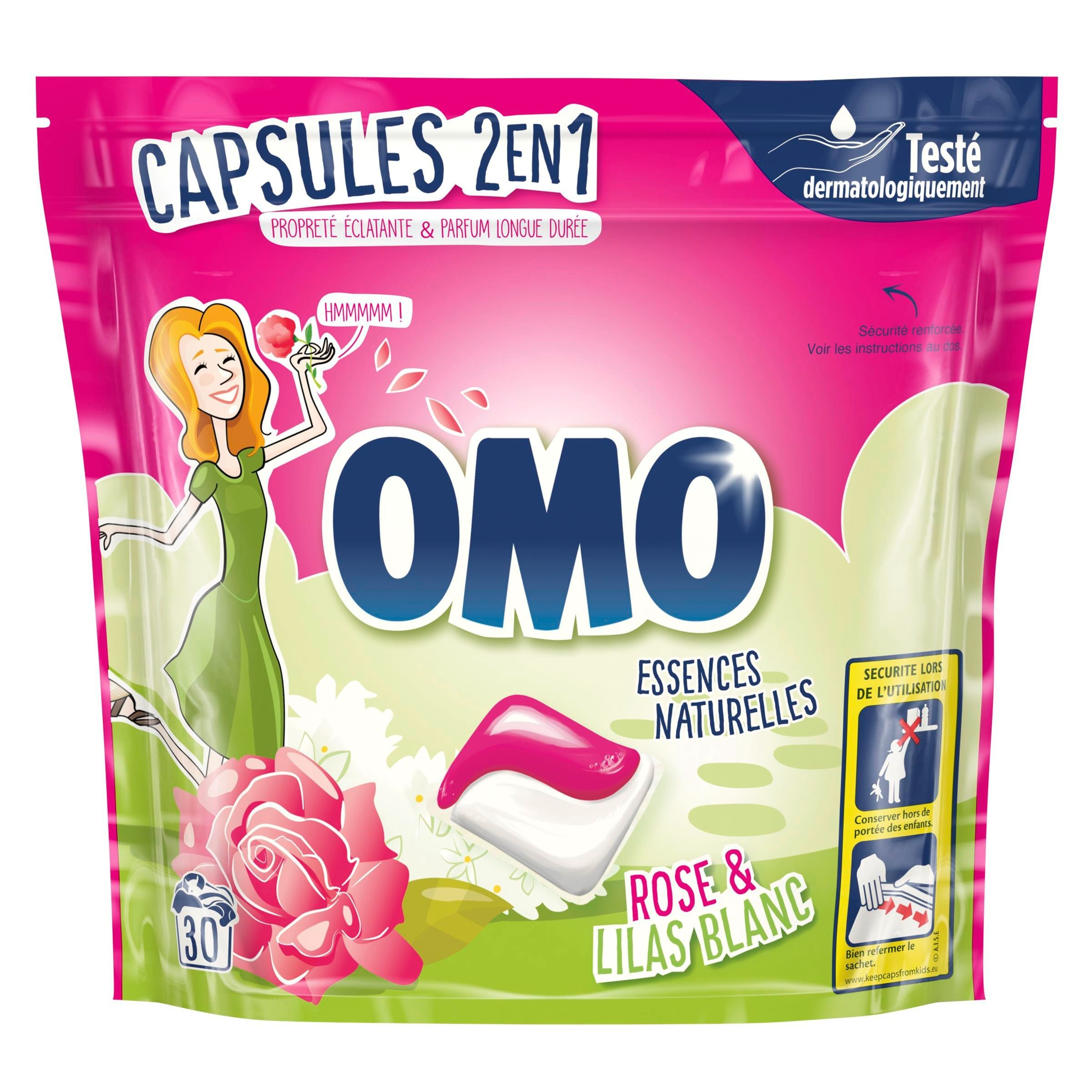 2 Truckloads of Laundry Detergent by OMO & Persil, 11,277 Pieces/10,317 Packs/3,599 Cases, Ext. Retail €102,101, Fauverney, FR