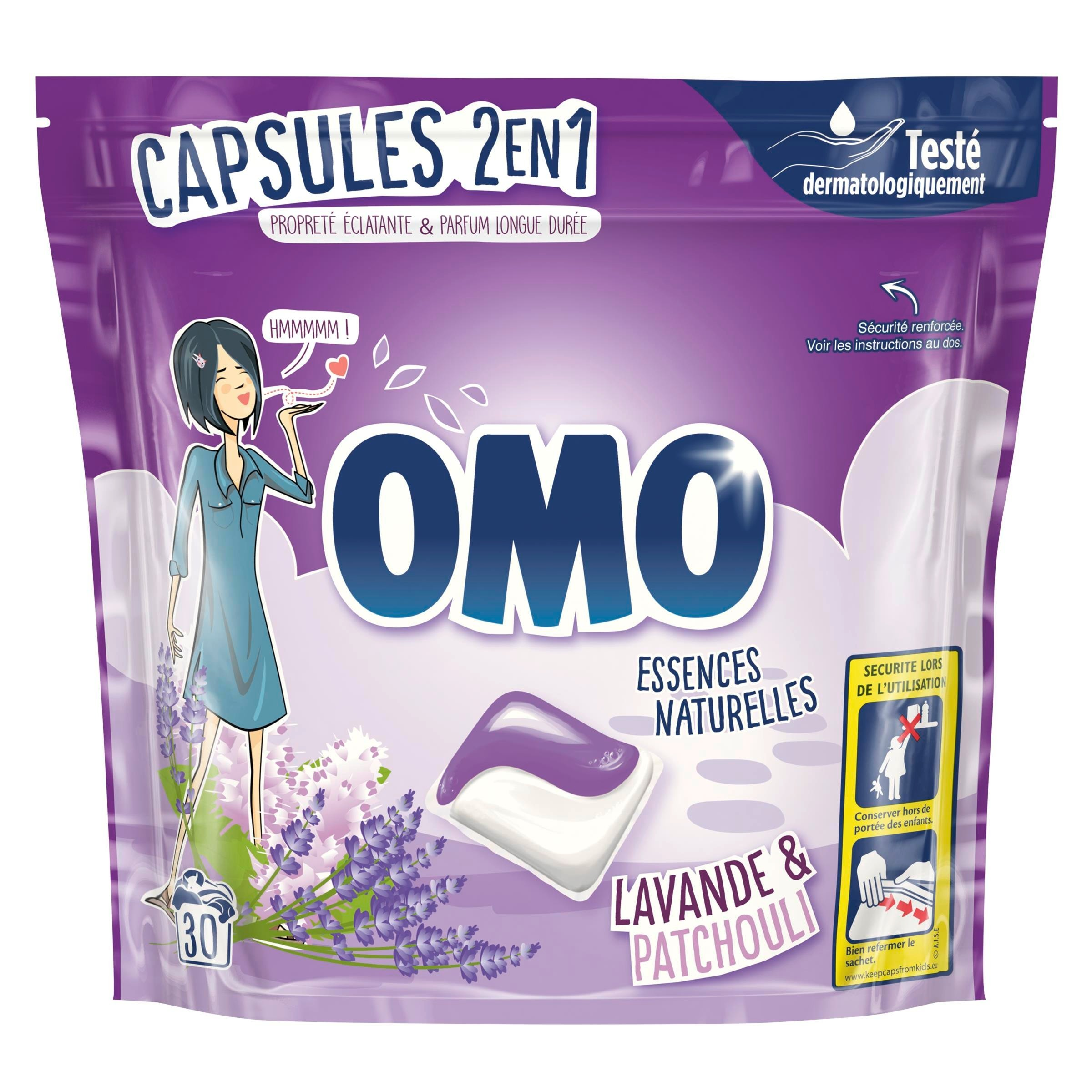 Truckload of OMO Laundry Detergent Pods, 6,048 Pieces/2,016 Cases, Ext. Retail €57,456, Fauverney, FR